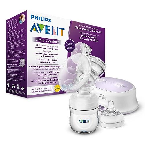 Philips Avent elektrische Milchpumpe SCF33231 weiß